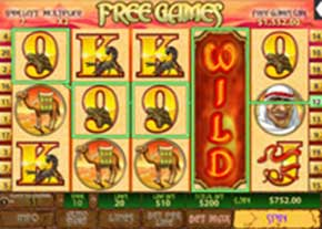 Desert Treasure - Online Casino Game